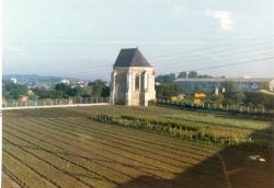 Lugar de la tumba de San Francisco en Tours. Francia.