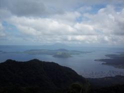 Vista tomada en Filipinas