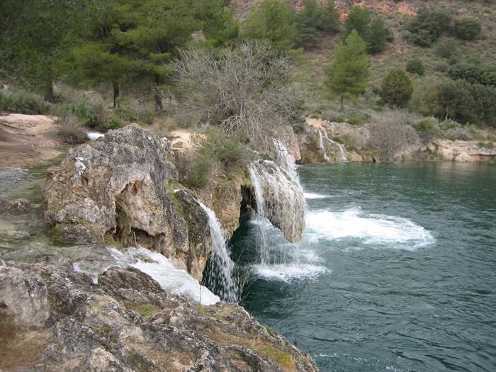 Lagunas de Ruidera -foto de archivo