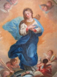 Inmaculada S. XVII -foto Mínimas Daimiel