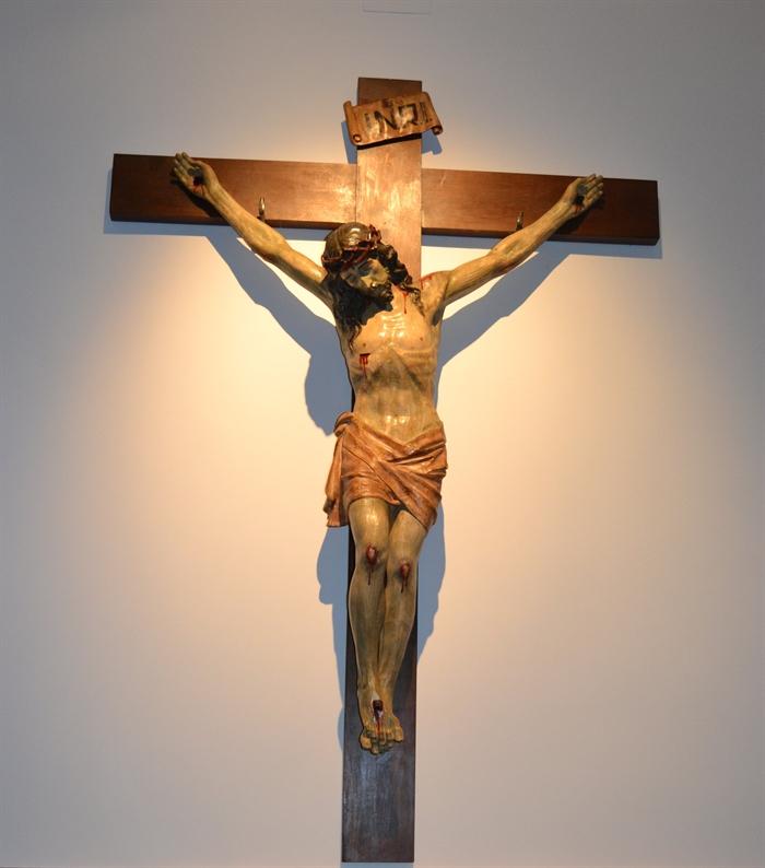 Cristo crucificado en el coro de las Monjas Mínimas de Daimiel