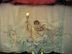 Foto de archivo de comunidad-Dibujo sor Natividad Dávoli