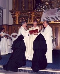 Profesión solemne Sor Rosa María y Sor Rocío-Daimiel