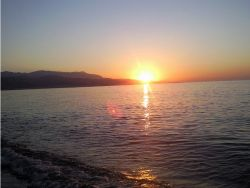 Puesta de sol malagueña