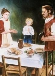 Francisco aprende a vivir en cristiano en su familia