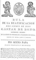 1Bula Beatificación de 1787