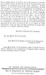 4 Bula Beatificación de 1787