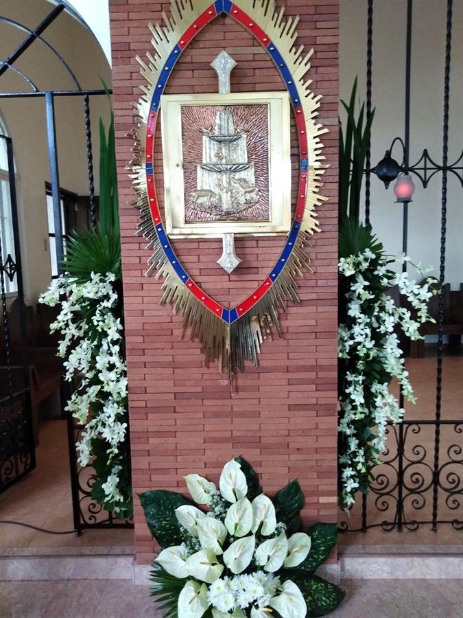 Sagrario en el Monasterio de Filipinas