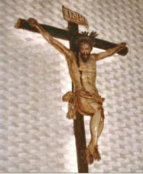 Cristo que preside el Presbiterio. Siglo XVII