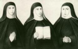 Retrato de las tres Fundadoras