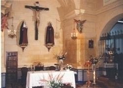 Iglesia del convento. Presbiterio