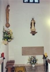 Sepulcro de Sor Filomena. Iglesia del convento