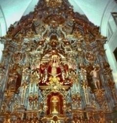 Retablo Central con la Virgen de Consolación