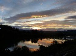 Vista Rio Ebro a su paso por Mora